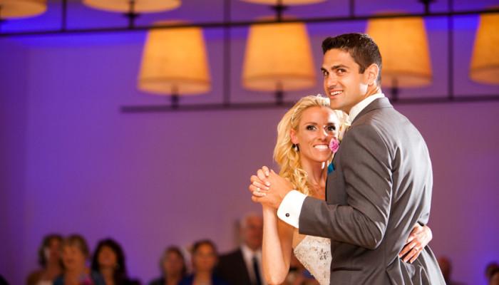 Terranea Resort Palos Verdes Ca wedding First Dance